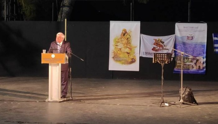 """Παυλόπουλος: """"Το παράδειγμα των Ντρέδων υπενθυμίζει το δικό μας χρέος για την πατρίδα"""" (βίντεο)"""