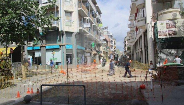 Καλαμάτα: Κλειστή από Δευτέρα η οδός Σιδηροδρομικού Σταθμού