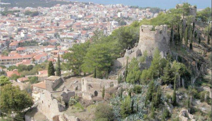 Προσωρινός ανάδοχος για κάστρο Κυπαρισσίας