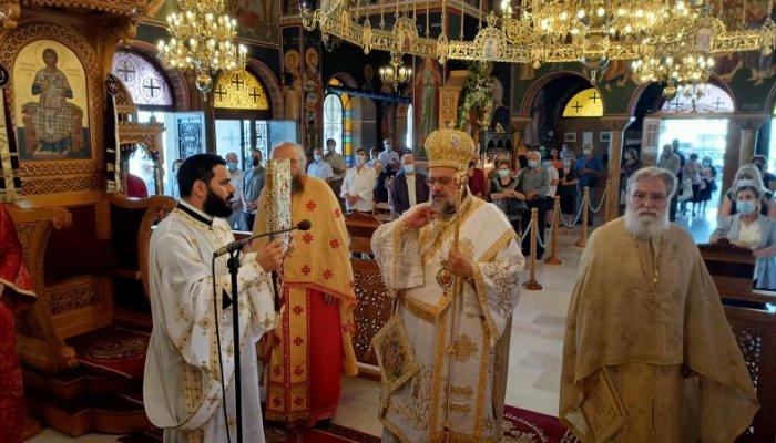 Ο εορτασμός του Αγίου Πνεύματος στην Αγία Τριάδα Καλαμάτας