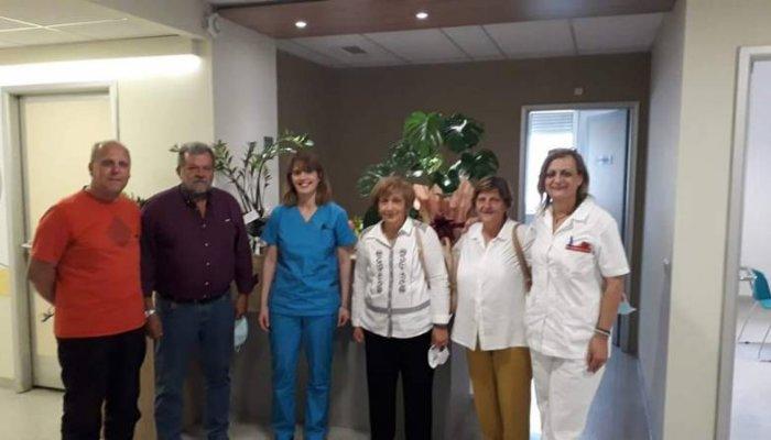 Το ΞαναρχίΖΩ στη Μονάδα Χημειοθεραπείας του Νοσοκομείου Καλαμάτας