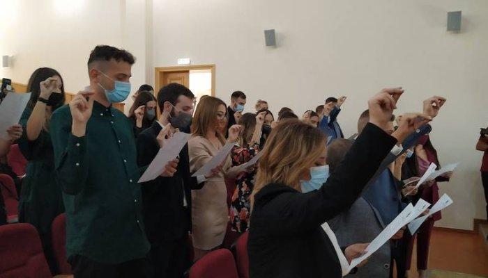 Ορκωμοσίες αποφοίτων στο Πανεπιστήμιο Πελοποννήσου