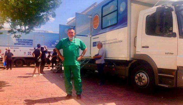 Ιδρυμα Νιάρχος: Οι Κινητές Ιατρικές Μονάδες στο Σιδηρόκαστρο Τριφυλίας