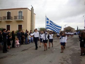 Η 28η Οκτωβρίου στο Γεράκι Λακωνίας (φωτογραφίες)