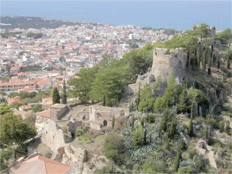 Πρόταση ένταξης του Κάστρου Κυπαρισσίας στο ΕΣΠΑ