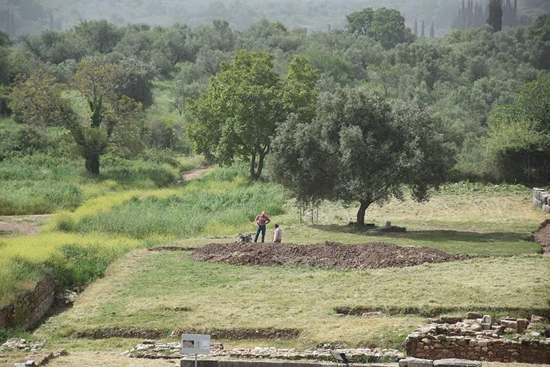 Παρουσιάστηκαν ευρήματα από ανασκαφές σε Αρχαία Μεσσήνη και Θουρία
