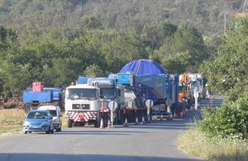 Κυκλοφοριακές ρυθμίσεις για τη μεταφορά υπερμεγέθους οχήματος στη ΔΕΗ Μεγαλόπολης
