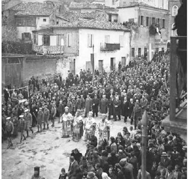 Η λιτανεία της Υπαπαντής το 1947