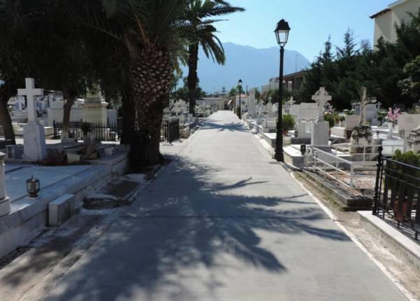 Κατάργηση 45 τάφων στονεκροταφείο Καλαμάτας