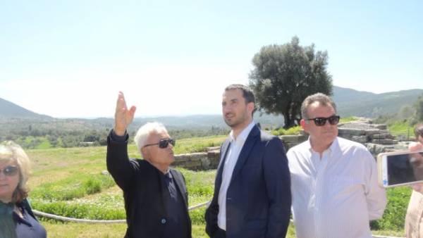 1,5 εκατ. ευρώ για την Αρχαία Μεσσήνη, ανακοίνωσε ο Αλ. Χαρίτσης