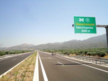 Τον Σεπτέμβριο η σύνδεση του νέου δρόμου με το Καλό Νερό - Τσακώνα
