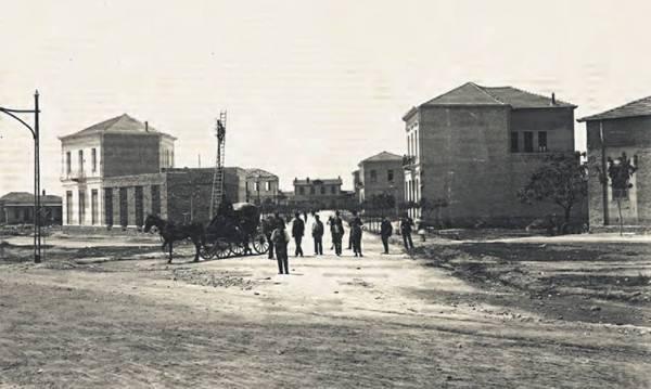 Η Σιδηροδρομικού Σταθμού πριν από 90 χρόνια