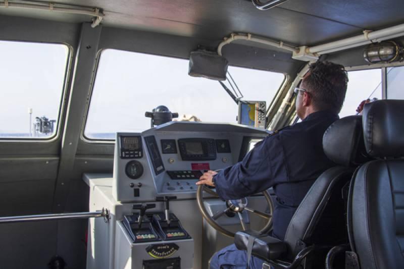 Μεσσηνία: Περιπολία με το σκάφος του λιμεναρχείου Πύλου (βίντεο-φωτογραφίες)