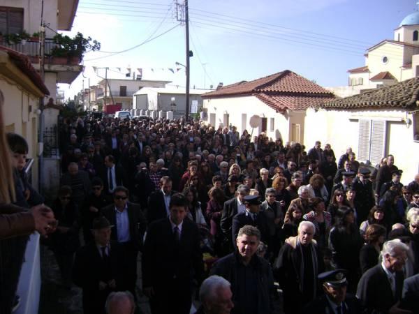 650 προσκυνητές με13 πούλμαν στην Τριφυλία