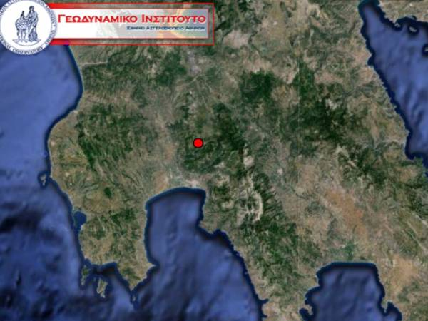 Σεισμός βόρεια της Καλαμάτας