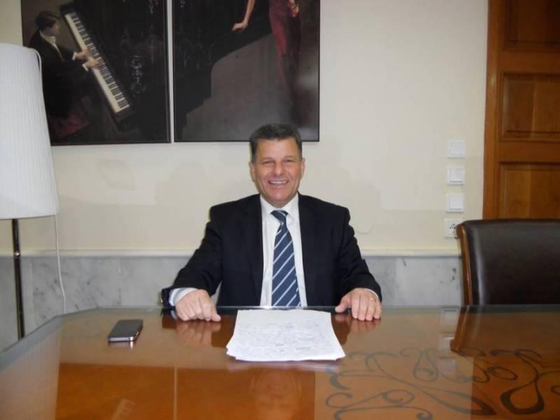 Μεσσηνία: Εγκαταστάθηκε στο Διοικητήριο ο Στάθης Αναστασόπουλος