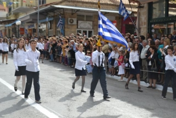 Φωτογραφίες από την παρέλαση στην Κυπαρισσία