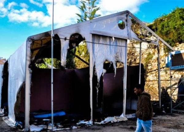 Χίος: Νέα επεισόδια, χθες το βραδυ, στον καταυλισμό προσφύγων και μεταναστών στη Σούδα