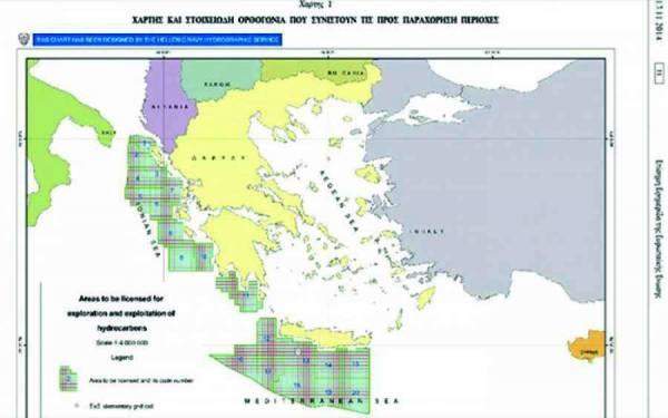 Ερευνες για πετρέλαιο και στη Μεσσηνία