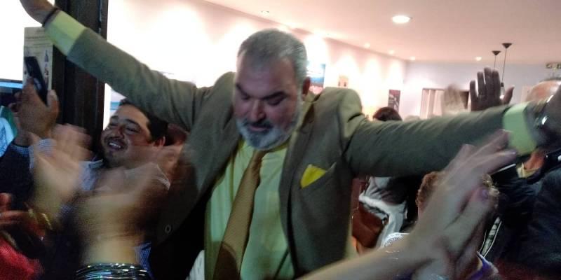 Πανηγυρική εκλογή Λεβεντάκη στην Τριφυλία (βίντεο)