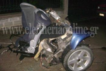 Τροχαίο με 4 τραυματίες στο Βασιλικό