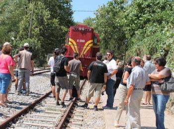 Εκδρομή με τρένο στην Καλαμάτα