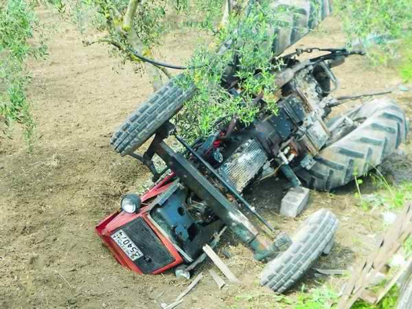 Νεκρός 70χρονος από ανατροπή τρακτέρ στη Γιάλοβα