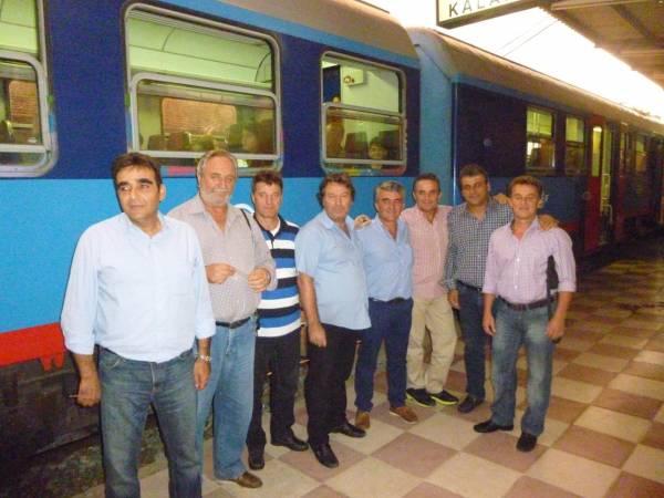 Μήνυμα υπέρ του σιδηρόδρομου στη Μεσσηνία έστειλαν συνταξιούχοι σιδηροδρομικοί (βίντεο)