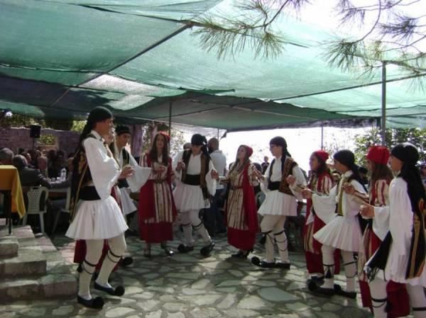 Εκδηλώσεις στο Ανω Ψάριγια την επανάσταση του 1834