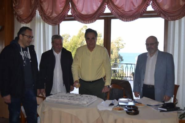 Εκοψε πίτα ο Σύλλογος Ξενοδόχων και Ιδιοκτητών Τουριστικών Καταλυμάτων Τριφυλίας