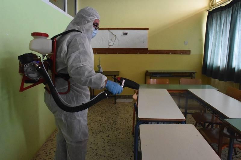 Μεσσηνία: Κλείνουν για 3 ημέρες όλα τα σχολεία της Τριφυλίας για απολύμανση για τον κορονοϊό
