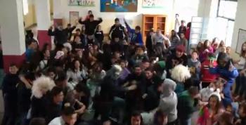 Harlem Shake στο Γυμνάσιο Κυπαρισσίας! (βίντεο)