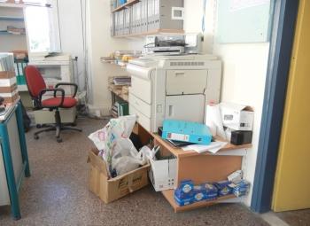 Καταστροφές και κλοπές σε κατειλημμένο σχολείο