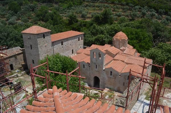 Αναδεικνύεται το βυζαντινό μεγαλείο του Ανδρομονάστηρου (φωτογραφίες)