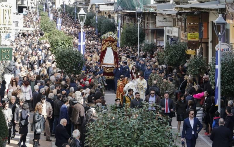 Η Καλαμάτα εορτάζει την πολιούχο της: Παρουσία του Προέδρουο εορτασμός της Υπαπαντής