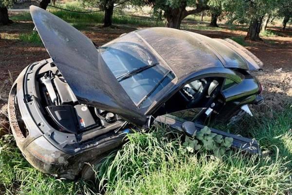 Καραμπόλα με εμπλοκή οχήματος του Δήμου Τριφυλίας στον δρόμο Γαργαλιάνων – Μαραθούπολής