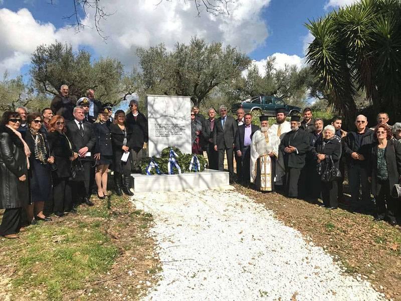 Μεσσηνία: Αποκαλυπτήρια μνημείου πεσόντων στη μάχη της Σχοινόλακκας