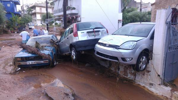 Προβλήματα στην κυκλοφορία οχημάτων σε όλη τη Μεσσηνία