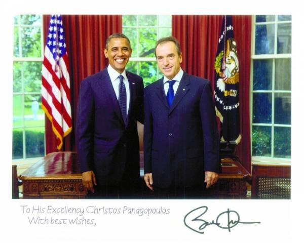 Ο Καλαματιανός πρέσβης Χρίστος Παναγόπουλος για την επίσκεψη Ομπάμα στην Ελλάδα