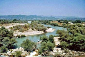 Αντληση από το σύστημα Αλφειού και υφαλμύρωση σε παραλιακές περιοχές