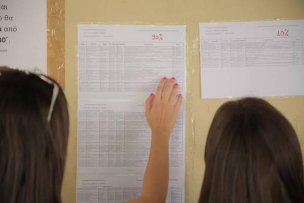 Οι επιτυχόντες στις πανελλαδικές εξετάσεις 2016 από την Μεσσηνία (όλα τα ονόματα)