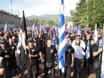 Απαγόρευση  αντιφασιστικής συγκέντρωσης στην Καλαμάτα ζητεί η Χρυσή Αυγή