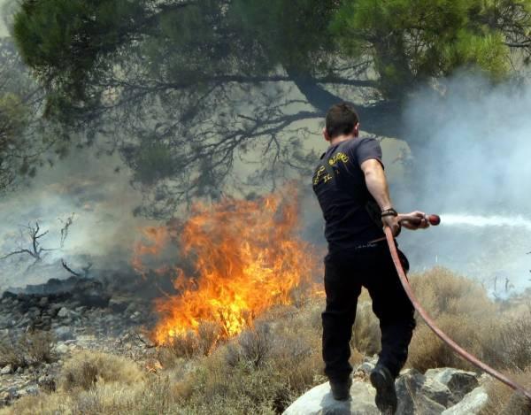 Φωτιά από... ρευματοκλοπή ξέσπασε στο Πλατύ