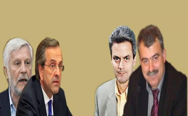 4 υπουργοί του Σαμαρά δίπλα στον Τατούλη