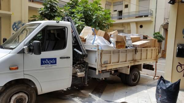 Παραδόθηκαν 1.700 κιλά καπάκια στο Πνευματικό Κέντρο Καλαμάτας