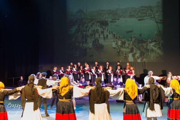 Η Σχολή της Μητρόπολης Μεσσηνίας στο Μέγαρο Χορού