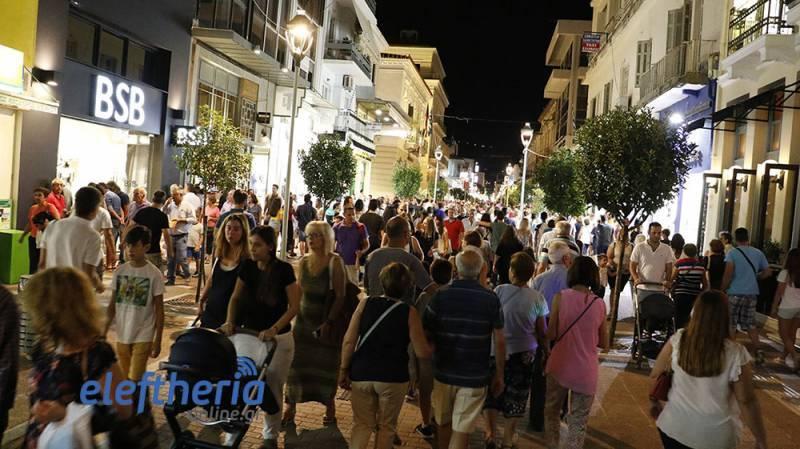 """Λεωφορεία από Αθήνα για τη """"Λευκή Νύχτα"""" στην Καλαμάτα"""