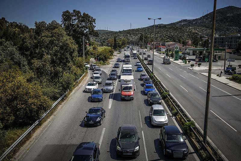 Μεσσηνία: Στα ίδια επίπεδα η κίνηση του Πάσχα στον αυτοκινητόδρομο
