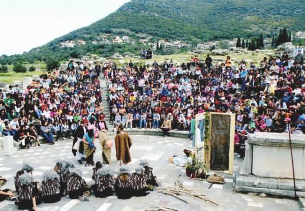 14 ομάδες στο Νεανικό Φεστιβάλ Αρχαίου Δράματος στην Αρχαία Μεσσήνη