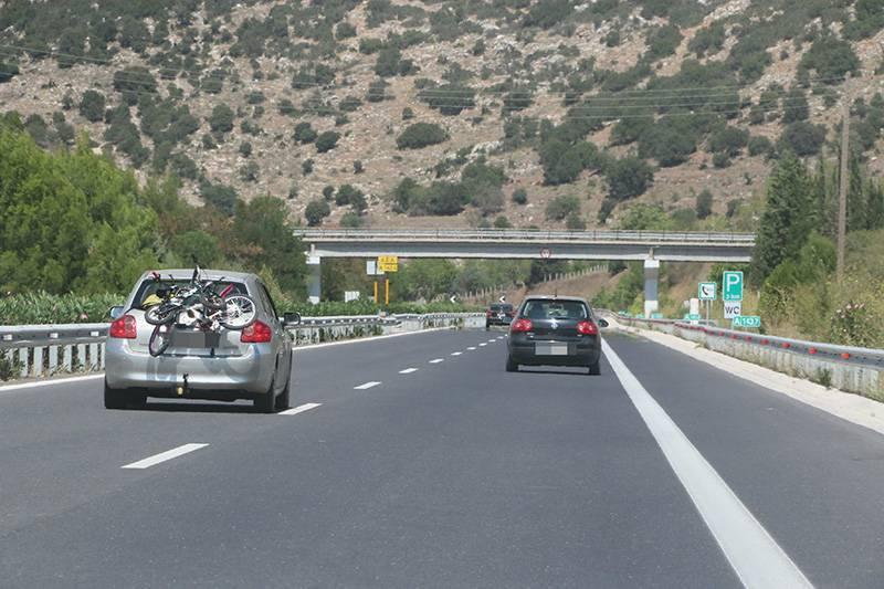Απαγόρευση κυκλοφορίας φορτηγών στον αυτοκινητόδρομο λόγω των εορτών